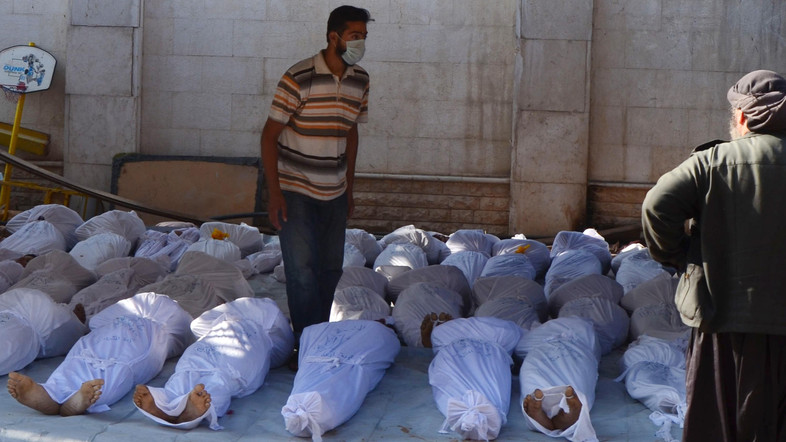 Chemical Weapons used by rebels in Syria