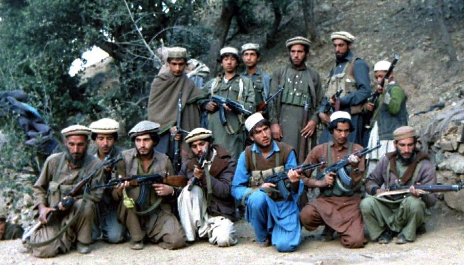 Courtesy: www.noteontheperiphery.wordpress.com, Mujahideen fighters during war with Soviet Union