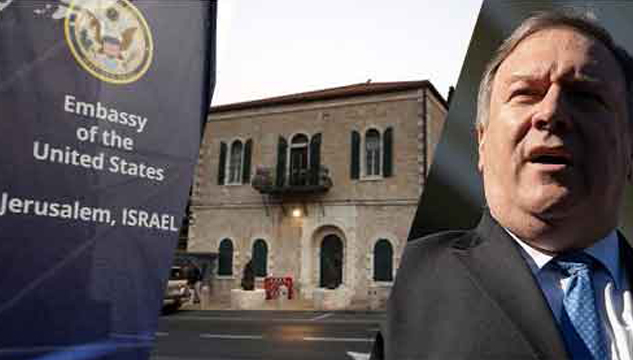 The Israel-Palestine conflict - once again its Jerusalem!