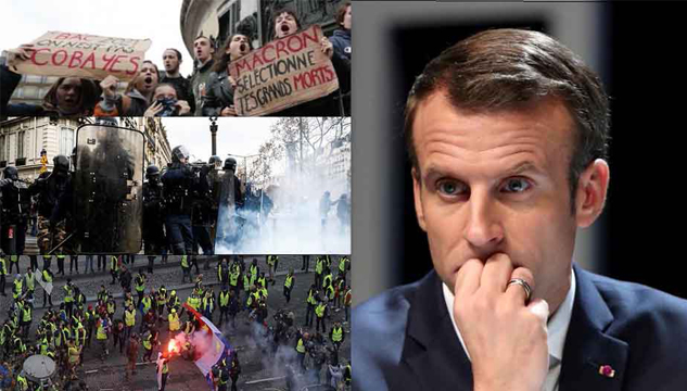 'Yellow Vests' protests in France - A blow to globalism and its pawn, Macron