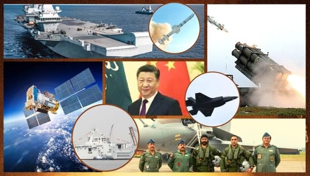 China ignites global arms race