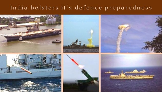 India bolsters it's defence preparedness