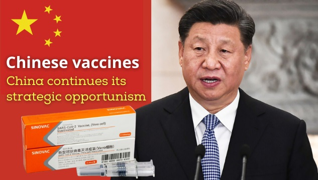 China furthers its vaccines to profit from the pandemic