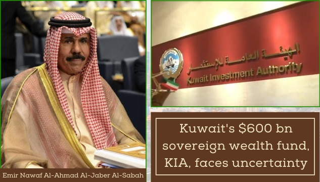 Kuwait's political instability leading to an economic crisis