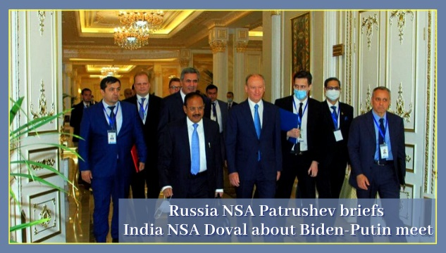 NSAs of India-Russia holds crucial meet on the sidelines of SCO summit