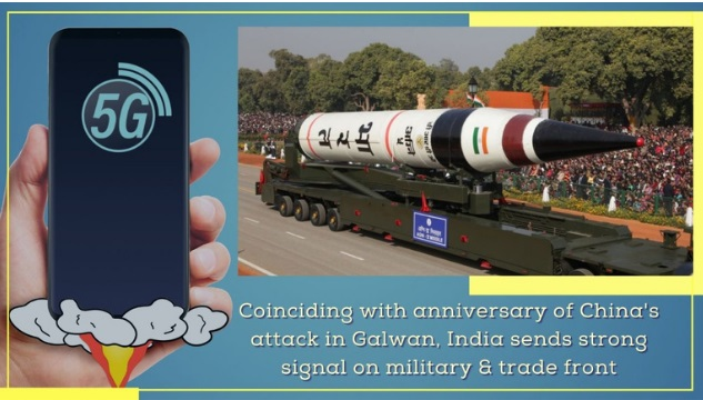 India sends strong military & trade signals to China coinciding with Galwan Day