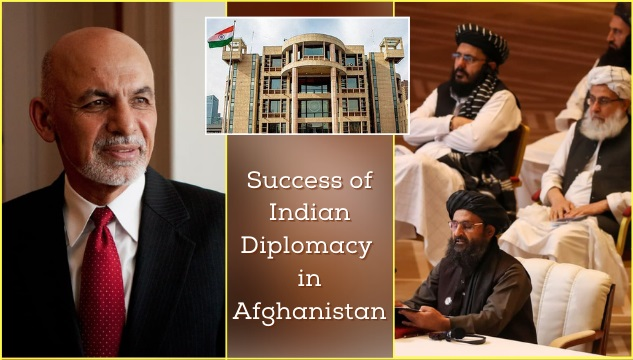 The success of Indian foreign policy and diplomacy in Afghanistan