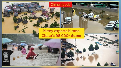 Heavy rainfall and floods devastated central China