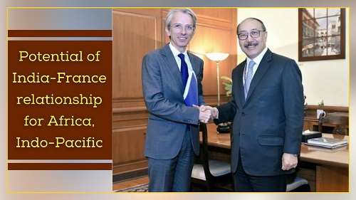 Potential of India-France relationship for Africa, Indo-Pacific