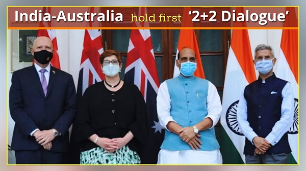 India-Australia hold first '2+2 Dialogue'
