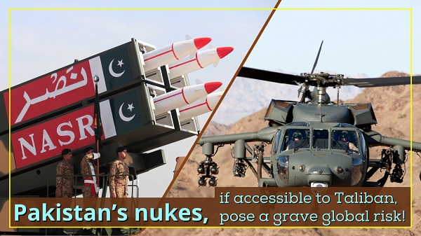 Pakistani nukes, if accessible to Taliban, pose a grave global risk
