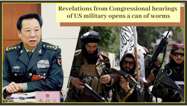 Revelations from congressional hearings of US military opens a can of worms